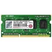 Memorie Laptop Transcend TS256MSK64V1N DDR3, 1x2GB, 1066MHz, CL7, 1.5V