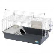 Ferplast 100 Gaiola para roedores - Cinza: C95cmxL57cmxA46 cm