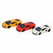 Lamborghini Speelgoed gele Lamborghini Aventador LP700-4 auto 12 cm