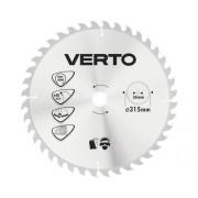 Disc fierastrau circular Topex Verto Ø315x2x30 mm 40 dinti, incl. inele reductoare