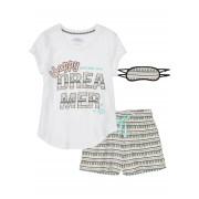 bpc bonprix collection Pyjamas med shorts och sovmask