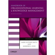 Handbook of Organizational Learning and Knowledge Management (Easterby-Smith Mark)(Paperback) (9780470972649)