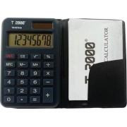 Calculator de buzunar 8 cifre cu etui T2000
