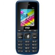 Trio T3 Plus Blue-Black (Dual Sim 1.77 Inch Display 2500 Mah Battery Multimedia Phone)