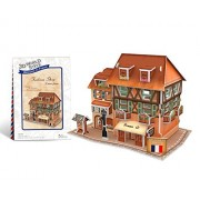 CubicFun W3119h France Fashion Shop 3d Puzzle