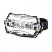5 LED-es kerékpár lámpa