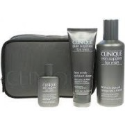 Clinique Skin Supplies Men (Gel Rasatura+esfoliante Viso+dopobarba+pochette) (020714308438)