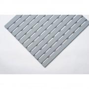 PVC-Profilmatte, pro lfd. m Lauffläche aus Hart-PVC, rutschsicher Breite 1000 mm, grau
