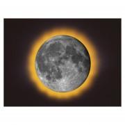 Lampara De La Luna Super Moon Led 3d Uncle Milton Original-Multicolor