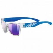 Uvex Kid`s Sportstyle 508 Mirror S3 Occhiali da sole grigio/blu
