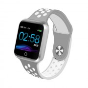 S226 1.3-inch IPS Color Screen Real-time Heart Rate Monitor Health Reminder Bluetooth 4.0 Smart Bracelet - Silver / Grey / White