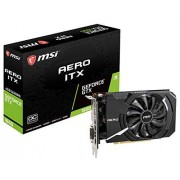 MSI Gaming GeForce GTX 1650 128-Bit HDMI/DP 4GB GDRR5 HDCP Soporte DirectX 12 Single Fan VR Ready OC tarjeta grfica (GTX 1650 Aero ITX 4G OC)