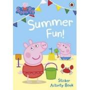 Peppa Pig: Summer Fun! Sticker Activity Book, Paperback