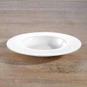 "Bone China ""À-Table"" Dinnerware, Soup plates, Set of 6"