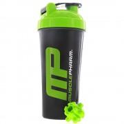 MusclePharm Shaker fekete/zöld 700 ml