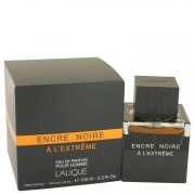Lalique Encre Noire A L'Extreme Eau De Parfum Spray 3.3 oz / 97.59 mL Men's Fragrance 533546