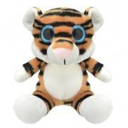 Merkloos Speelgoed tijger knuffel 19 cm