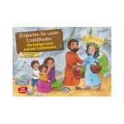 Don Bosco Bildkarten: Die heilige Lucia und der Lichterkranz