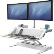 Fellowes Lotus™ Sitz-Steh-Workstation HxBxT 140 x 832 x 616 mm weiß