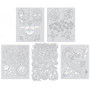 Artool Freehand Airbrush Templates, Curse Of Skullmaster Mini Set