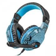 Геймърски слушалки с микрофон Fury Hellcat, Black/Blue, NFU-0863