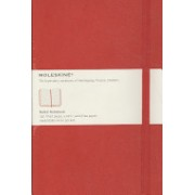 Moleskine Large Ruled Notebook Red(Notebook / blank book) (9788862930048)