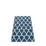 pappelina Otis Outdoor-Teppich - ozeanblau / vanille 70 x 140cm