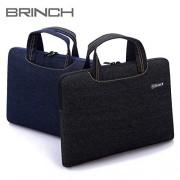 "ELECTROPRIME® Blue Denim Laptop Notebook Sleeve Case Carry Handbag for 13"" MacBook Retina"
