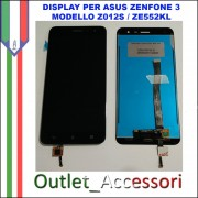 Display LCD Touch Asus Zenfone 3 ZE520KL Z017D 5,2'' Schermo Completo