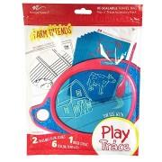 Boogie Board Play and Trace - Farm barátok, cserélhető sablon