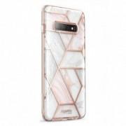 Carcasa stylish Supcase Cosmo Samsung Galaxy S10 Plus Marble