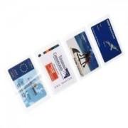 Ламин.фолио за визитки,125 микрона,100листа/пакет, 67 х 98 мм - HAMA-50060