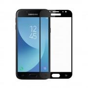 Folie Samsung Galaxy J7 (2017) Meleovo Sticla Full Cover Black