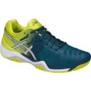 Asics GEL - RESOLUTION 7 Tennis Shoes For Men(Blue)