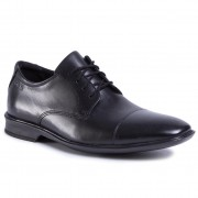 Обувки CLARKS - Bensley Cap 261477137 Black Leather
