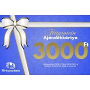 Fittprotein Online Ajándékkártya Férfiaknak 3000Ft értékben