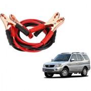 Auto Addict Premium Quality Car 500 Amp Heavy Duty Copper Core Tangle Battery Booster Cable 7.5 Ft For Tata Safari
