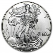 American Eagle Stříbrná investiční mince 1 Oz 1999