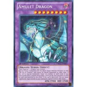 Yu Gi Oh! Amulet Dragon (Drlg En003) Dragons Of Legend 1st Edition Secret Rare