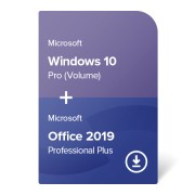 Windows 10 Pro (Volume) + Office 2019 Professional Plus digital certificate