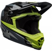 Bell Full-9 2018 Casco de descenso Gris Verde 2XL