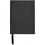 Smythson Soho Notebook Black Crossgrain