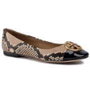 Балеринки TORY BURCH - Chelsea Cap-Toe Ballet 61202 Desert Roccia/Perfect Black 960