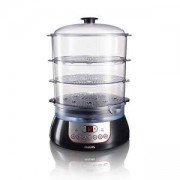 Уред за готвене на пара Philips Pure Essentials Collection 10 L, 900 W, Black HD9140/91