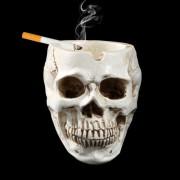 Halloween Utensils Resin Skull Ashtray Personality Home Decoration -HC1168