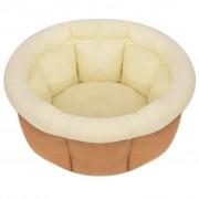 vidaXL Кучешко легло, размер L, бежово