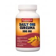 Pharmekal Daily one Kurkuma 500 mg 180 db (családi k.)