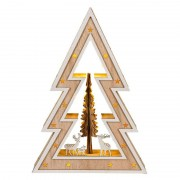 Country Style LED Christmas tree