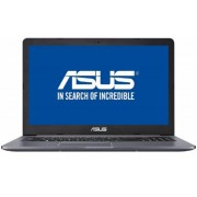 "Laptop ASUS VivoBook Pro N580VN-FY121 (Procesor Intel® Core™ i7-7700HQ (6M Cache, up to 3.80 GHz), 15.6"" FHD, 8GB, 1TB HDD @5400RPM, nVidia GeForce MX 150 @4GB, FPR, Endless OS, Gri) + Bonus Intel Core i5 si i7 Software Pack ASUS"