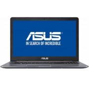 "Laptop ASUS VivoBook Pro N580VN-FY121 (Procesor Intel® Core™ i7-7700HQ (6M Cache, up to 3.80 GHz), 15.6"" FHD, 8GB, 1TB HDD @5400RPM, nVidia GeForce MX 150 @4GB, FPR, Endless OS, Gri)"